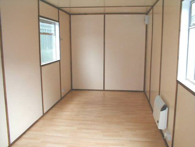20ft container office conversion adaptainer - How to convert a shipping container ...