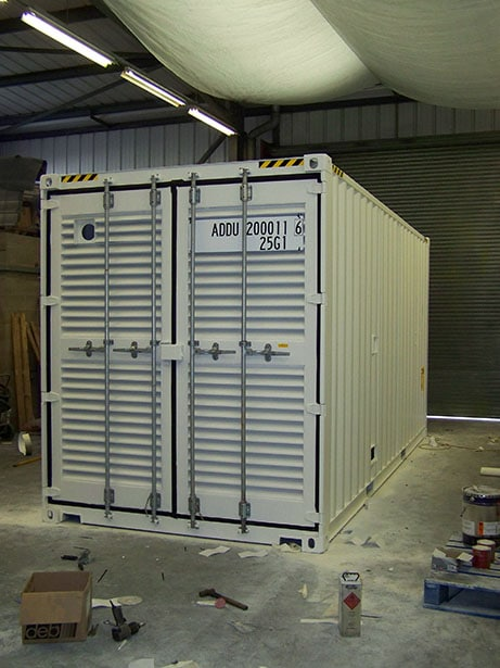 Genertainer Generator Shipping Container Conversion