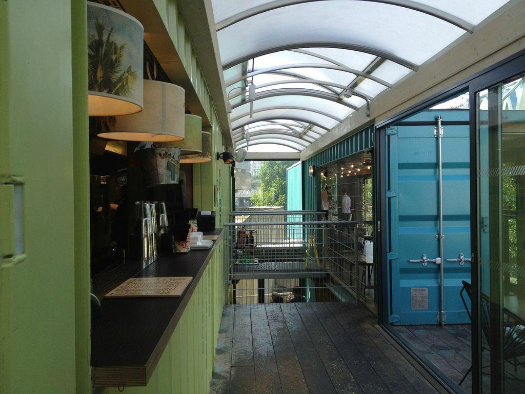 Shipping container restaurant design joy studio design for Decor 718 container