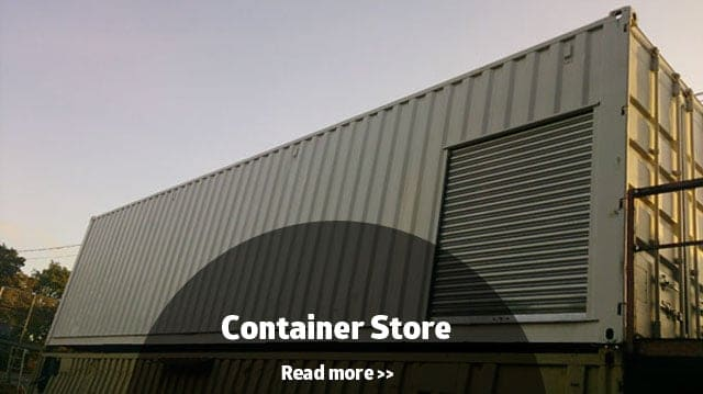 Converted 40ft container store