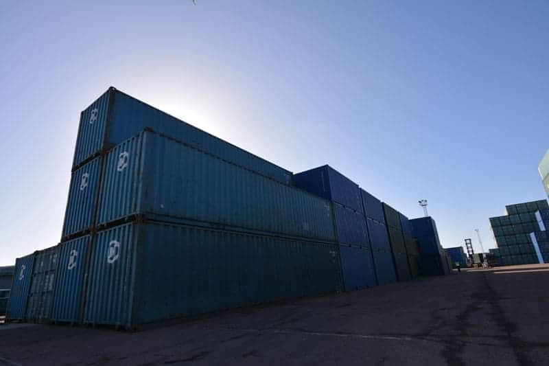 Used 40ft container for sale