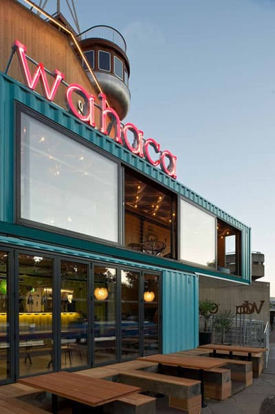 Shipping Container Restaurant Conversion Wahaca On