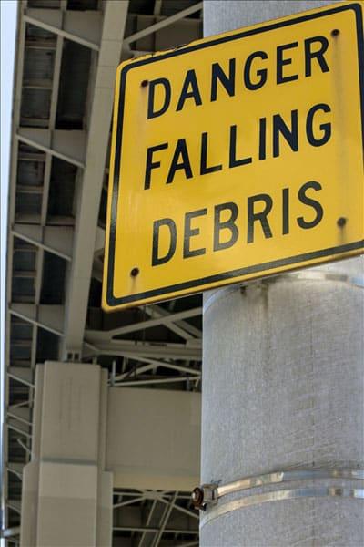 Site hazard sign