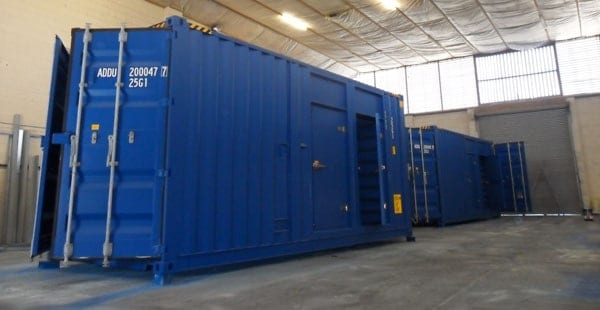 Tunnel container conversion