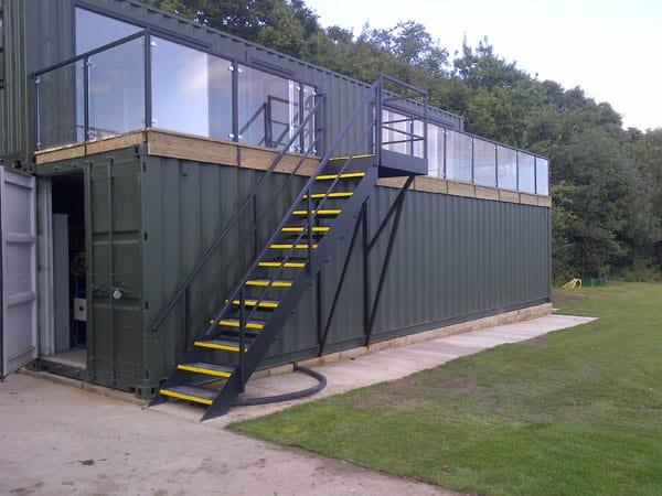 school classroom container conversion