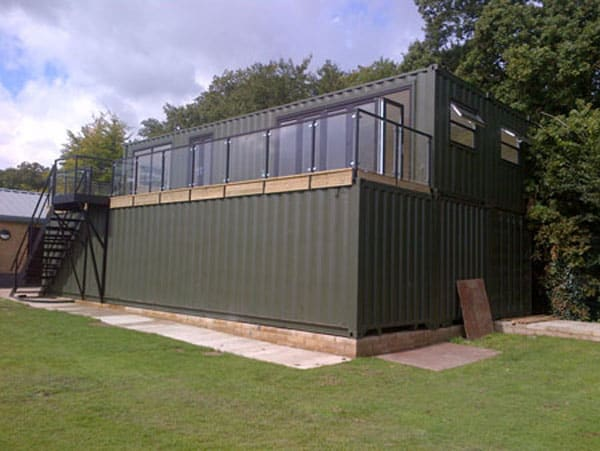 school classroom container conversion