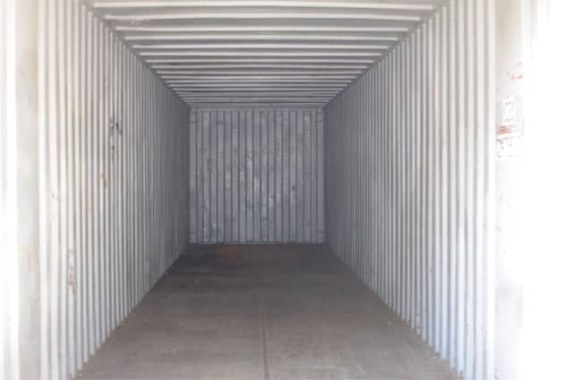 Second hand 40ft container for sale