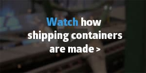 How shipping containers are made banner