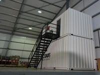stairs for shipping containers