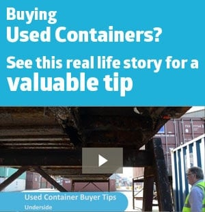 used container sale story