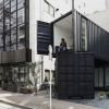 Shipping container art gallery tokyo