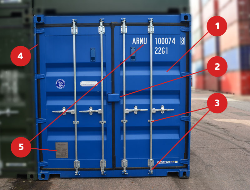 How To Open And Close Your Shipping Container Doors