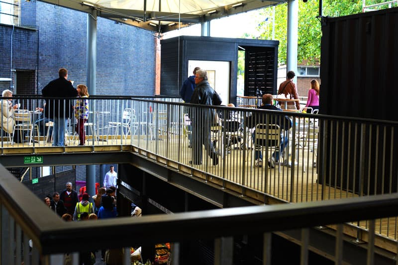 Watford Market shipping container mall