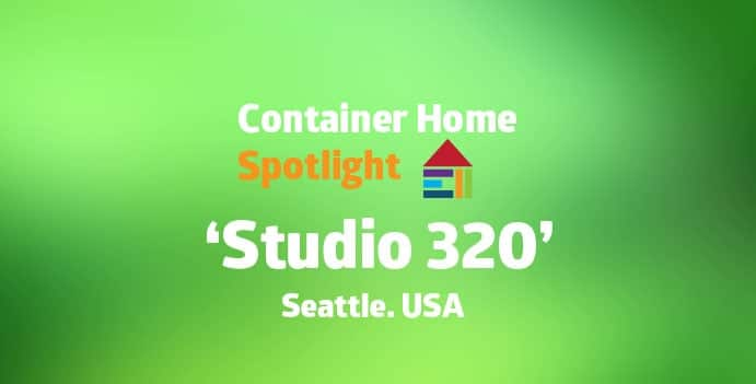Shipping container home eco-friendly design