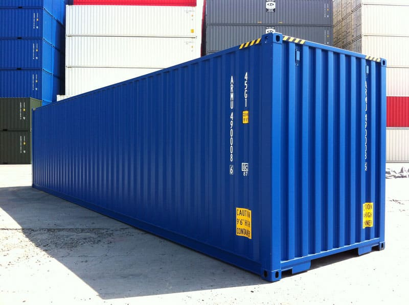 40ft high cube storage container for sale