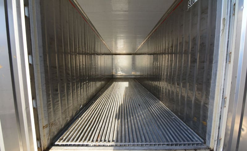 40ft refrigerated storage container