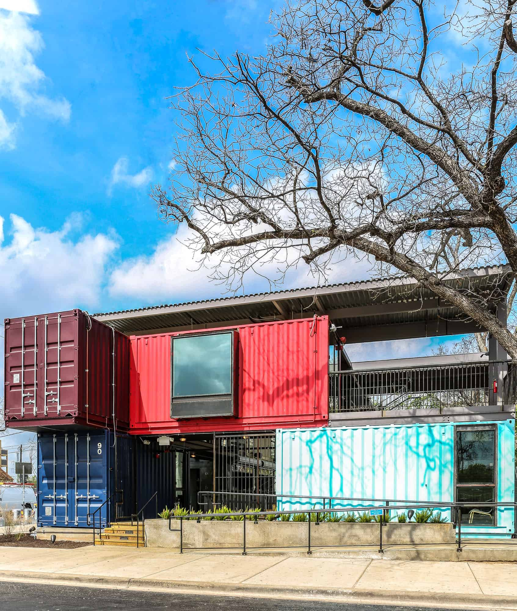 Images From Container Architecture: Shipping Container Bar, Austin, Texas