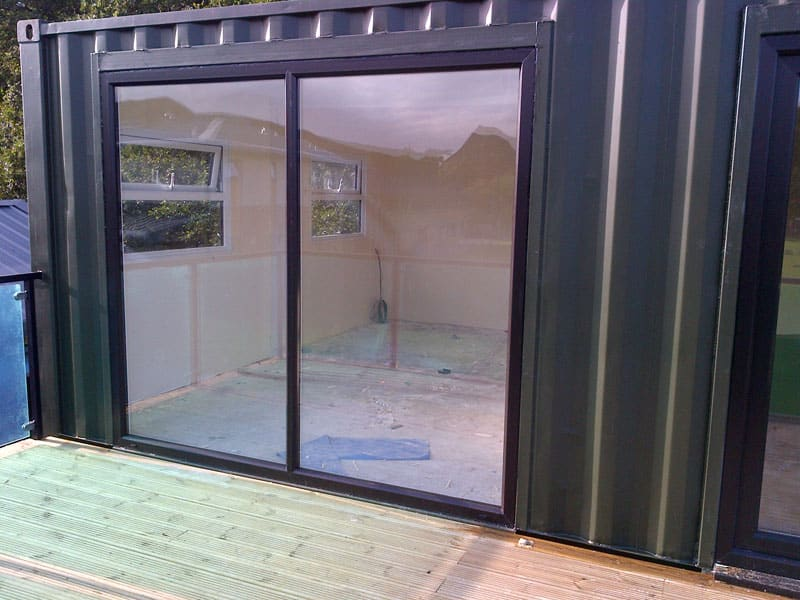 Shipping container windows for sale