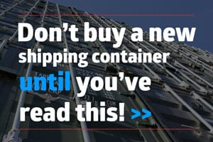 Buy new containers UK