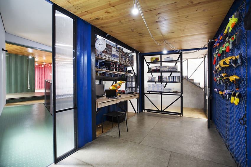 inside container homes