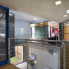 inside a shipping container home