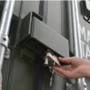 Buy a shipping container with a lockbox for theft protection