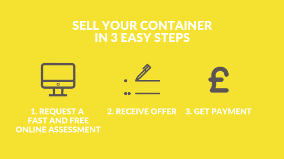 Sell shipping containers in 3 easy steps