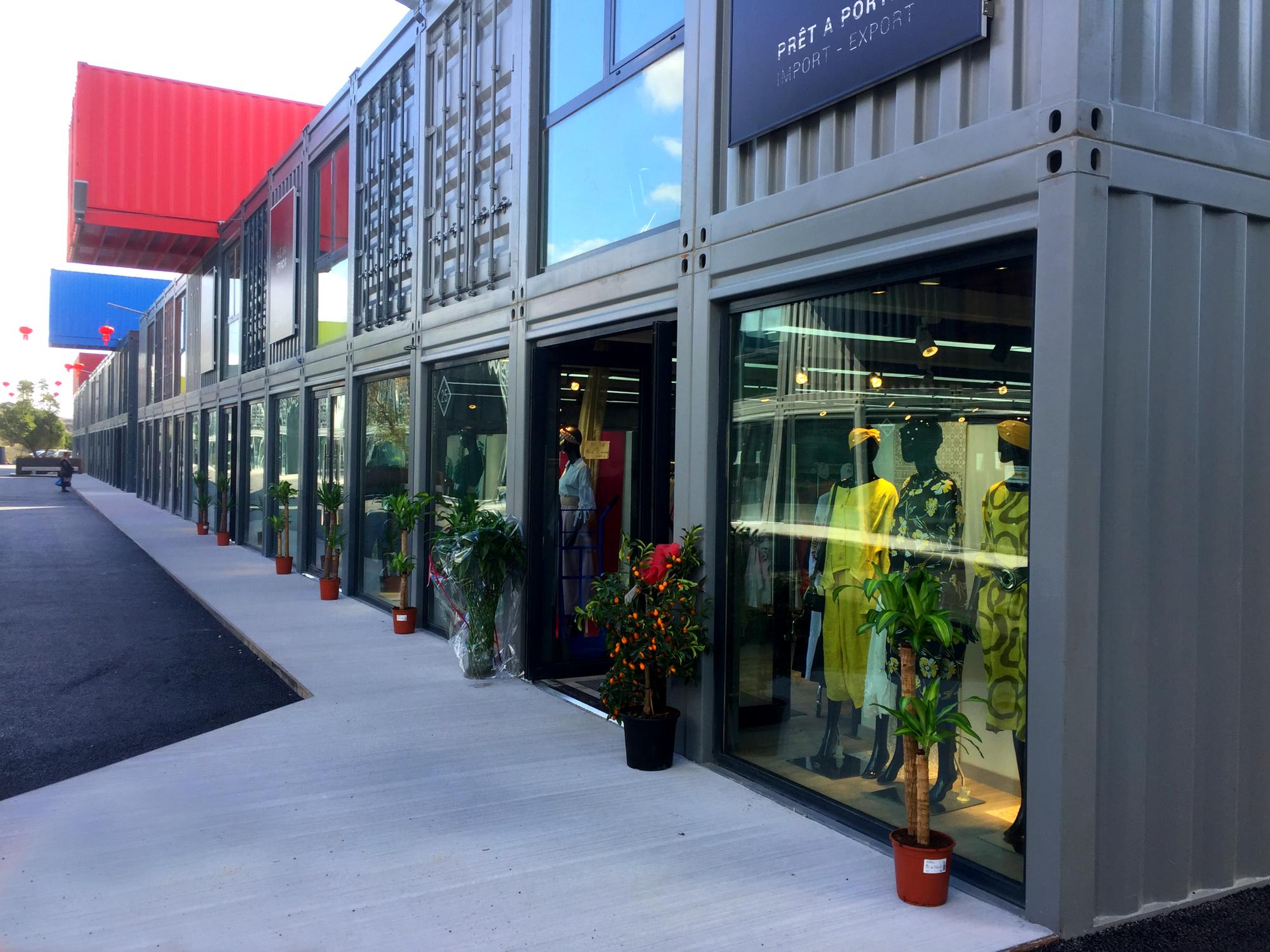 Adaptainer MIF68 - Marseilles International Fashion Centre
