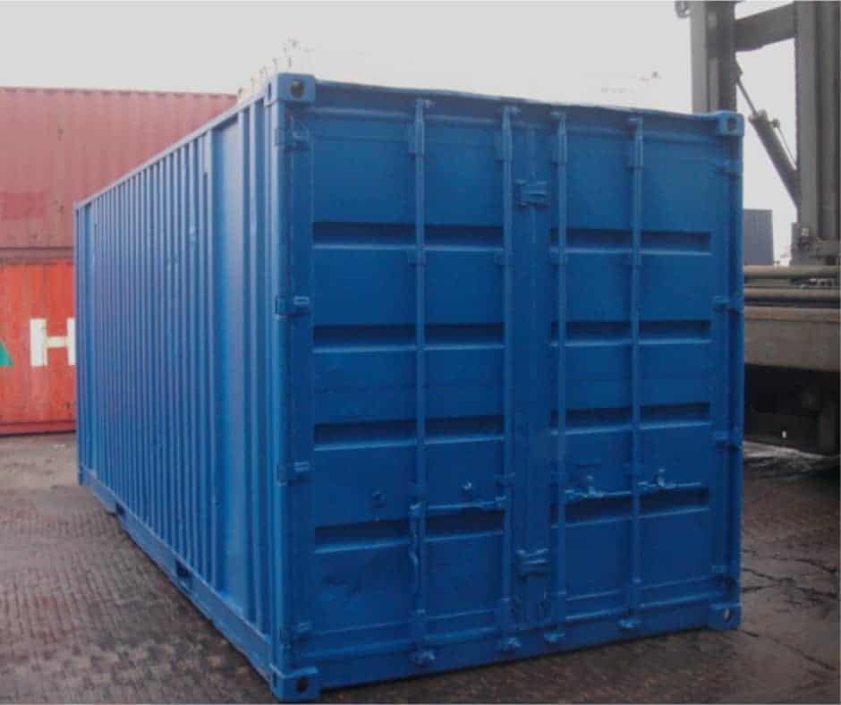 20ft used container repainted