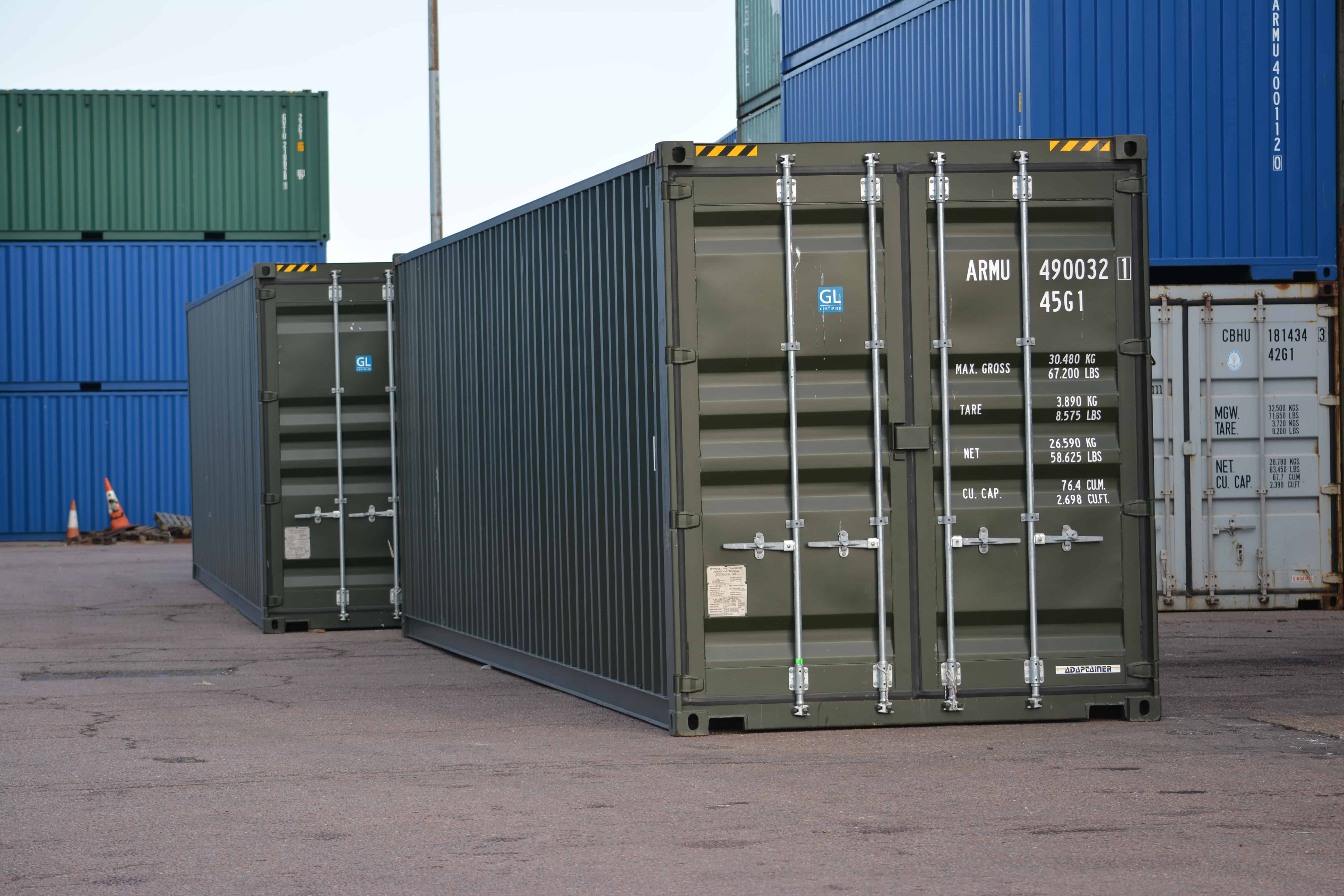 40ft Container | 40 Foot Container Sale and Hire | Storage ...