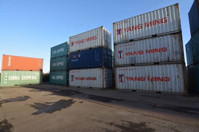used 20ft container