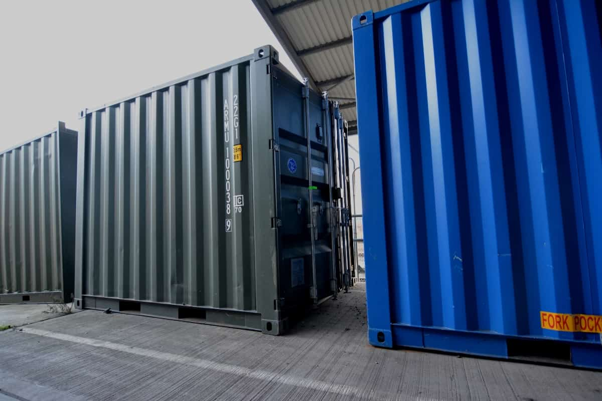 10ft container green