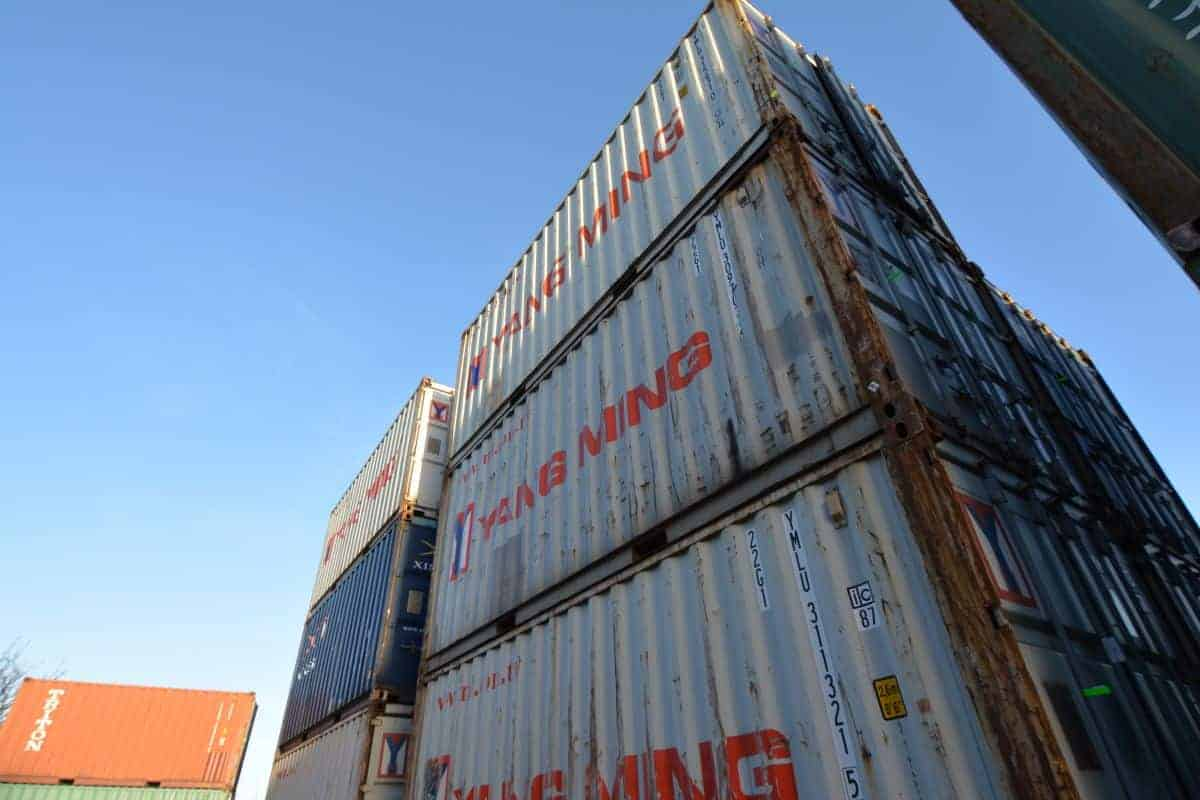 20ft container second hand