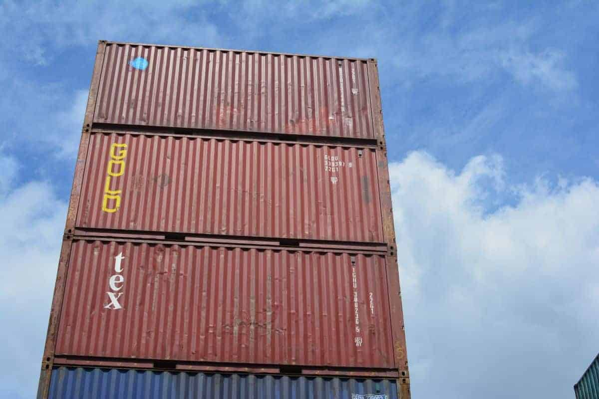 20ft shipping containers used