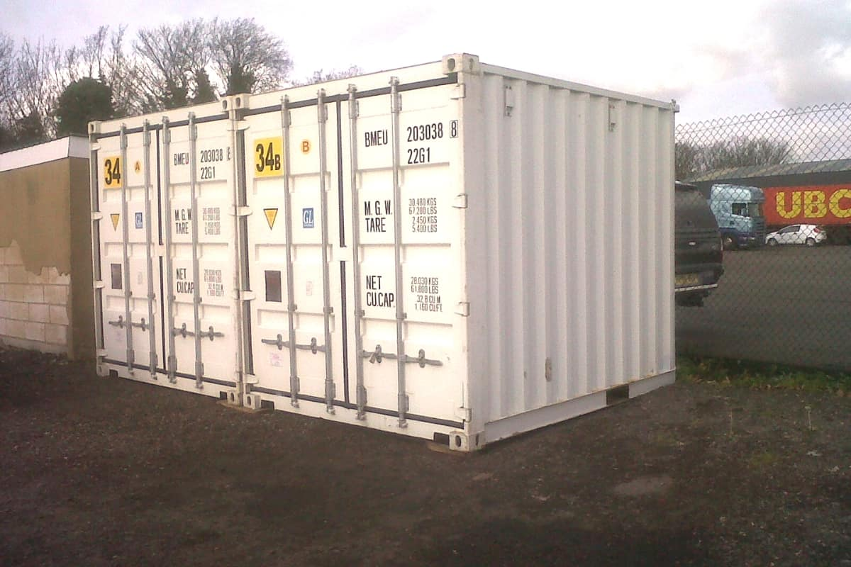 used 10ft shipping container grade a