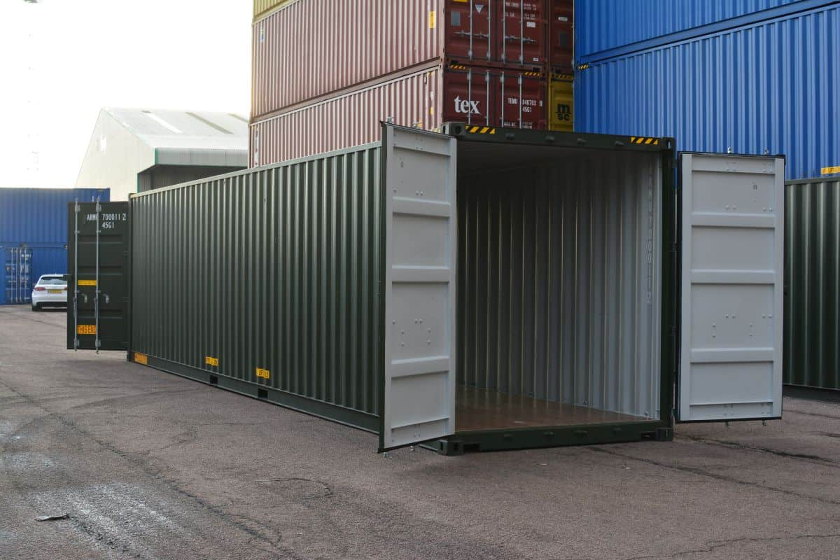 Tunnel Container Sale Or Hire Containers With Double End
