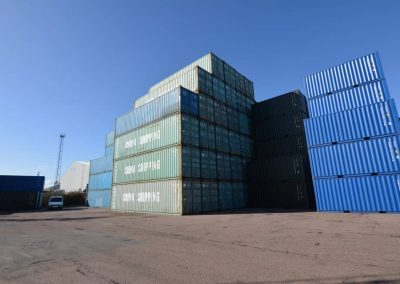 40ft used containers