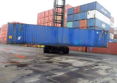 45ft container used