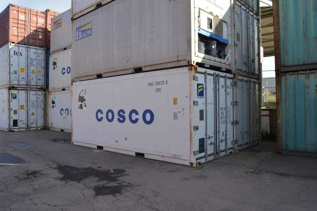 Refrigerated containers for sale - Buy 20ft or 40ft reefers