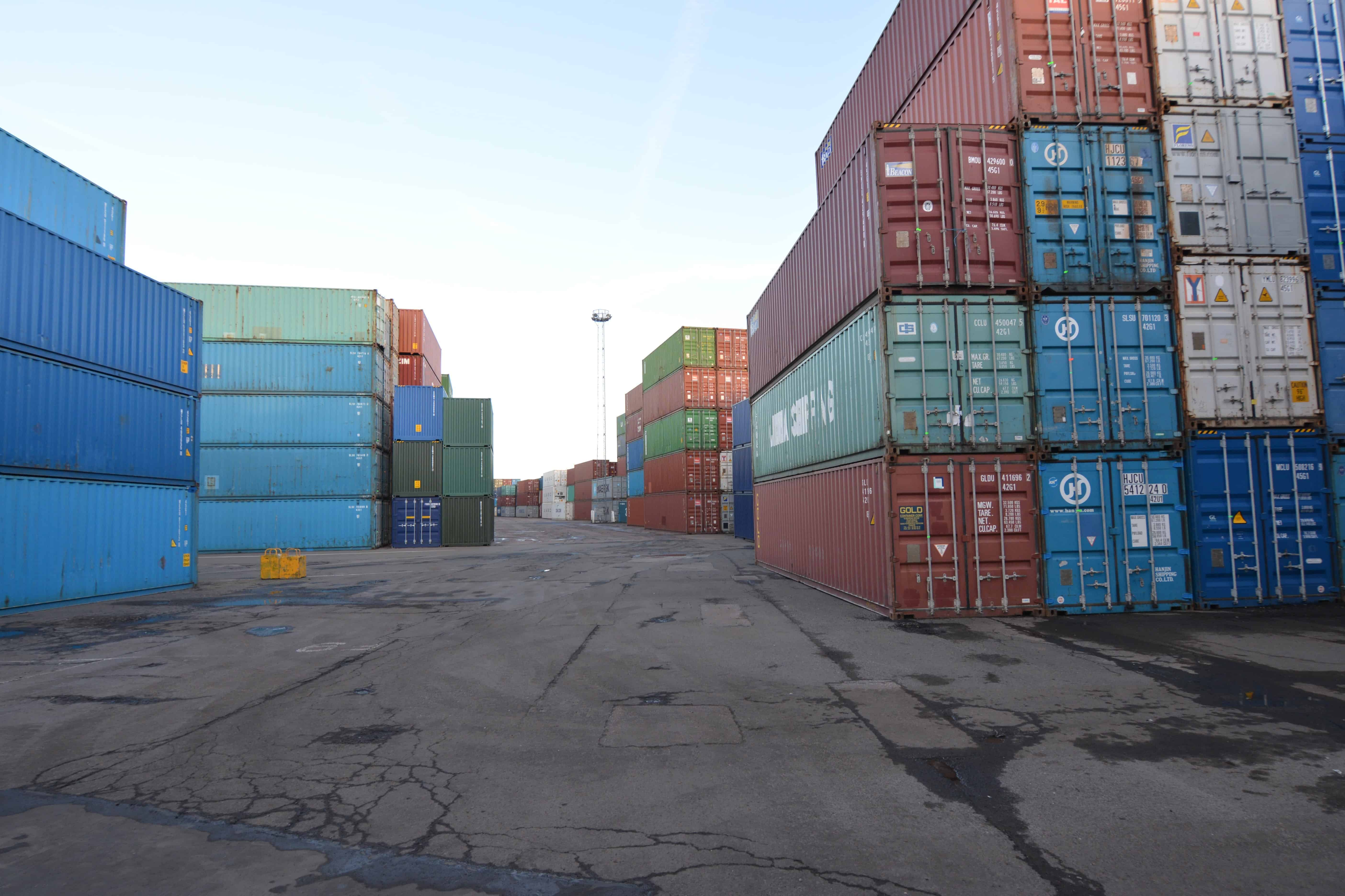used 40ft storage containers