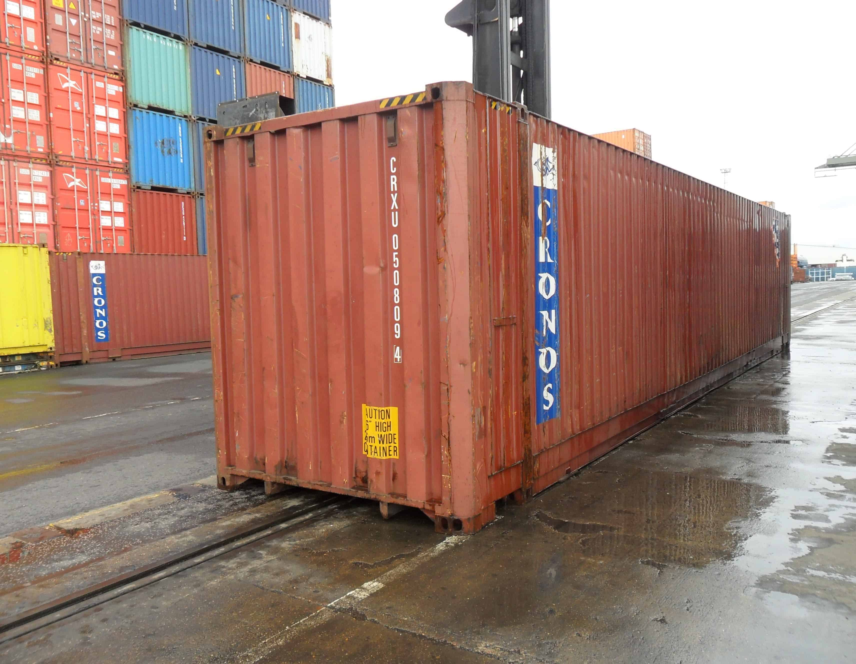 45ft Container   45 Feet Shipping Container Sale or Hire ...