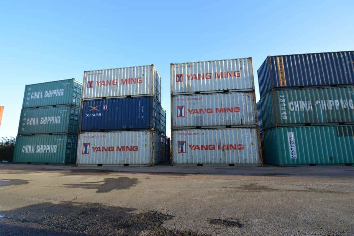 20ft storage containers
