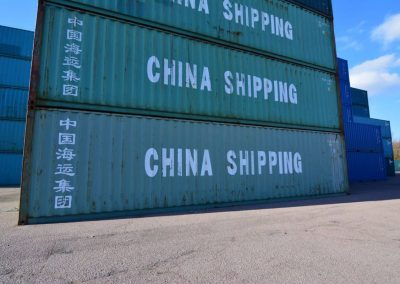 40ft container used