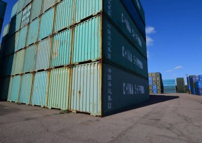 second-hand 40ft container