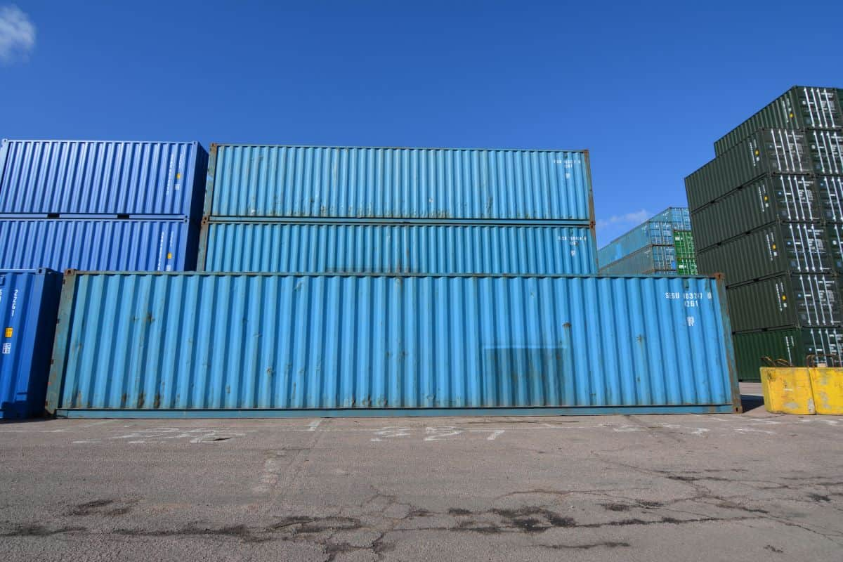 used containers uk