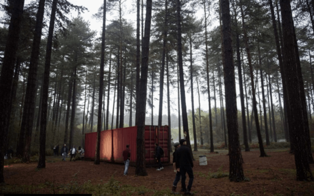 Press Release: 'Torture chamber' shipping container made famous by hit TV series Killing Eve to be auctioned for charity