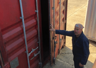 shipping container auction 3