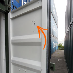 storage container vents internal